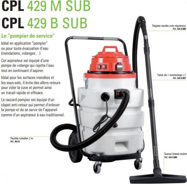aspirateur ica cpl 429 sub